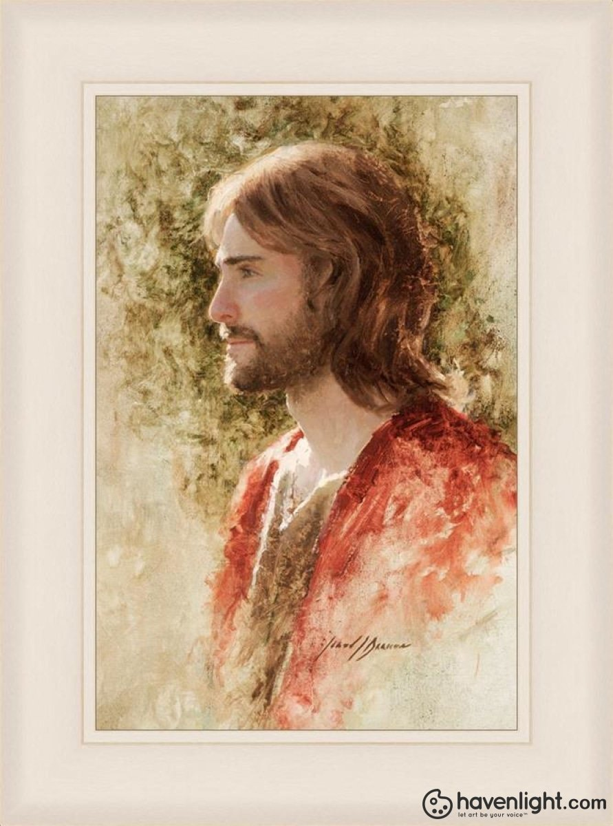 Prince Of Peace Open Edition Canvas / 16 X 24 Frame L 31 23 Art