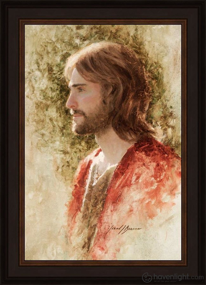Prince Of Peace Open Edition Canvas / 16 X 24 Frame N 28 3/4 20 Art