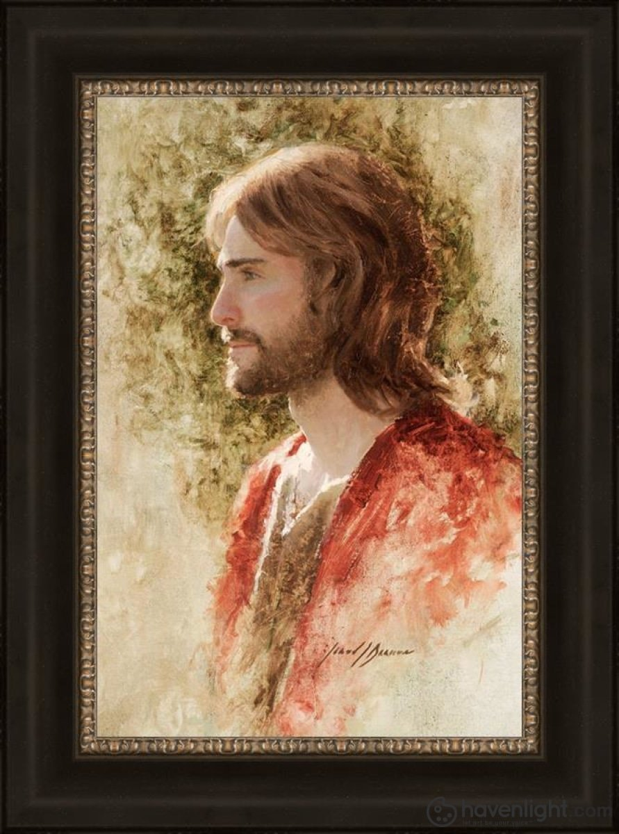 Prince Of Peace Open Edition Canvas / 16 X 24 Frame W 31 23 Art