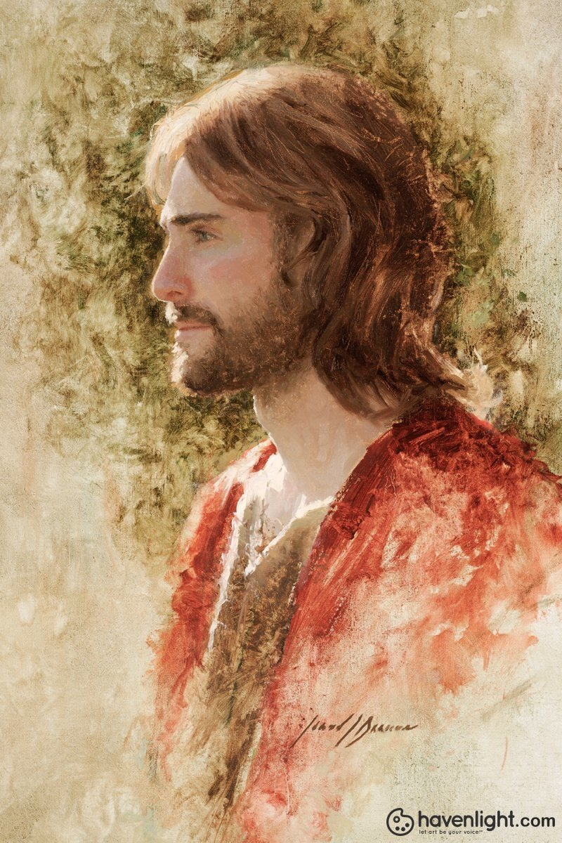 Prince Of Peace Open Edition Canvas / 16 X 24 Rolled Art