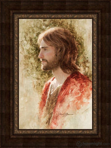 Prince Of Peace Open Edition Canvas / 20 X 30 Frame A 40 Art