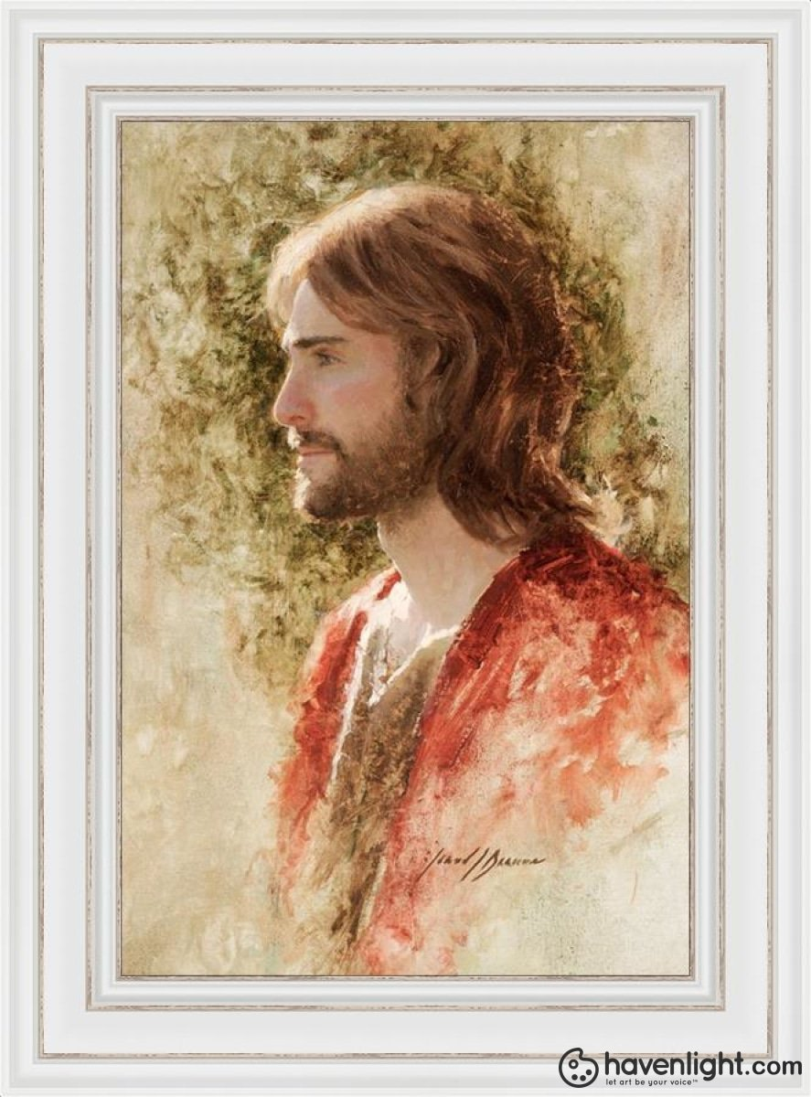 Prince Of Peace Open Edition Canvas / 20 X 30 Frame D 38 1/4 28 Art