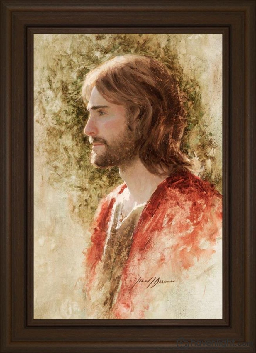 Prince Of Peace Open Edition Canvas / 20 X 30 Frame E 36 3/4 26 Art