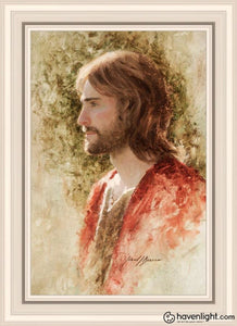 Prince Of Peace Open Edition Canvas / 20 X 30 Frame W 36 3/4 26 Art
