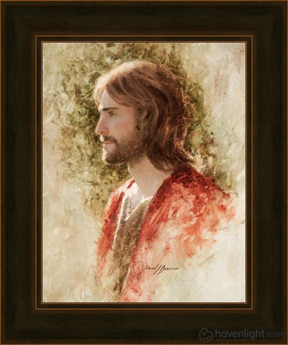 Prince Of Peace Open Edition Print / 11 X 14 Frame A 18 1/4 15 Art