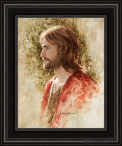 Prince Of Peace Open Edition Print / 11 X 14 Frame B 18 1/4 15 Art