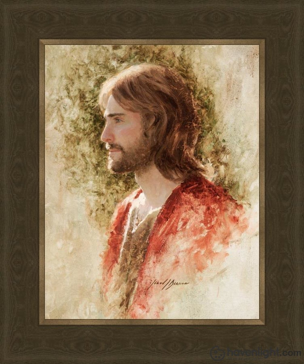 Prince Of Peace Open Edition Print / 11 X 14 Frame G 18 1/4 15 Art