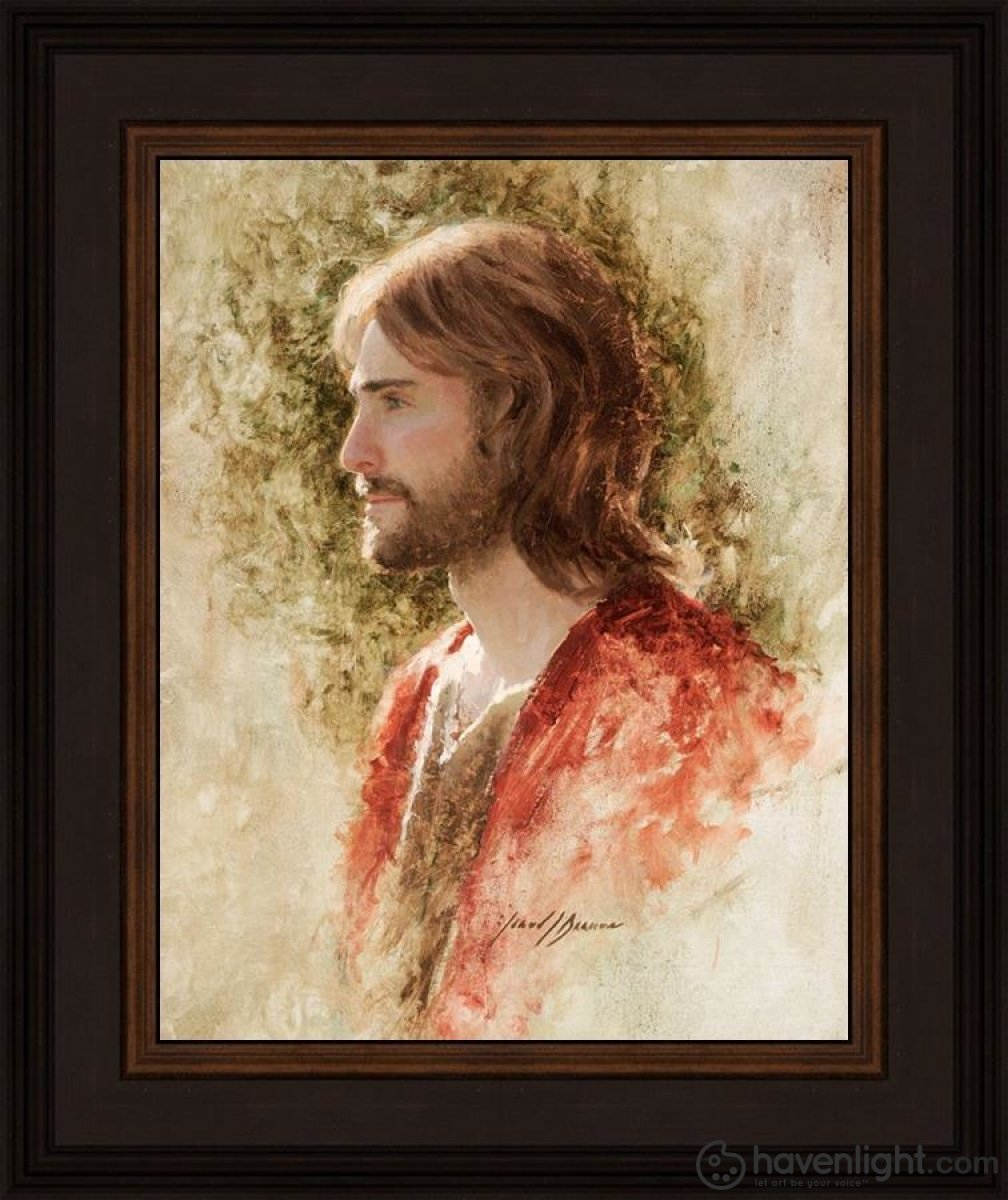 Prince Of Peace Open Edition Print / 11 X 14 Frame N 18 3/4 15 Art