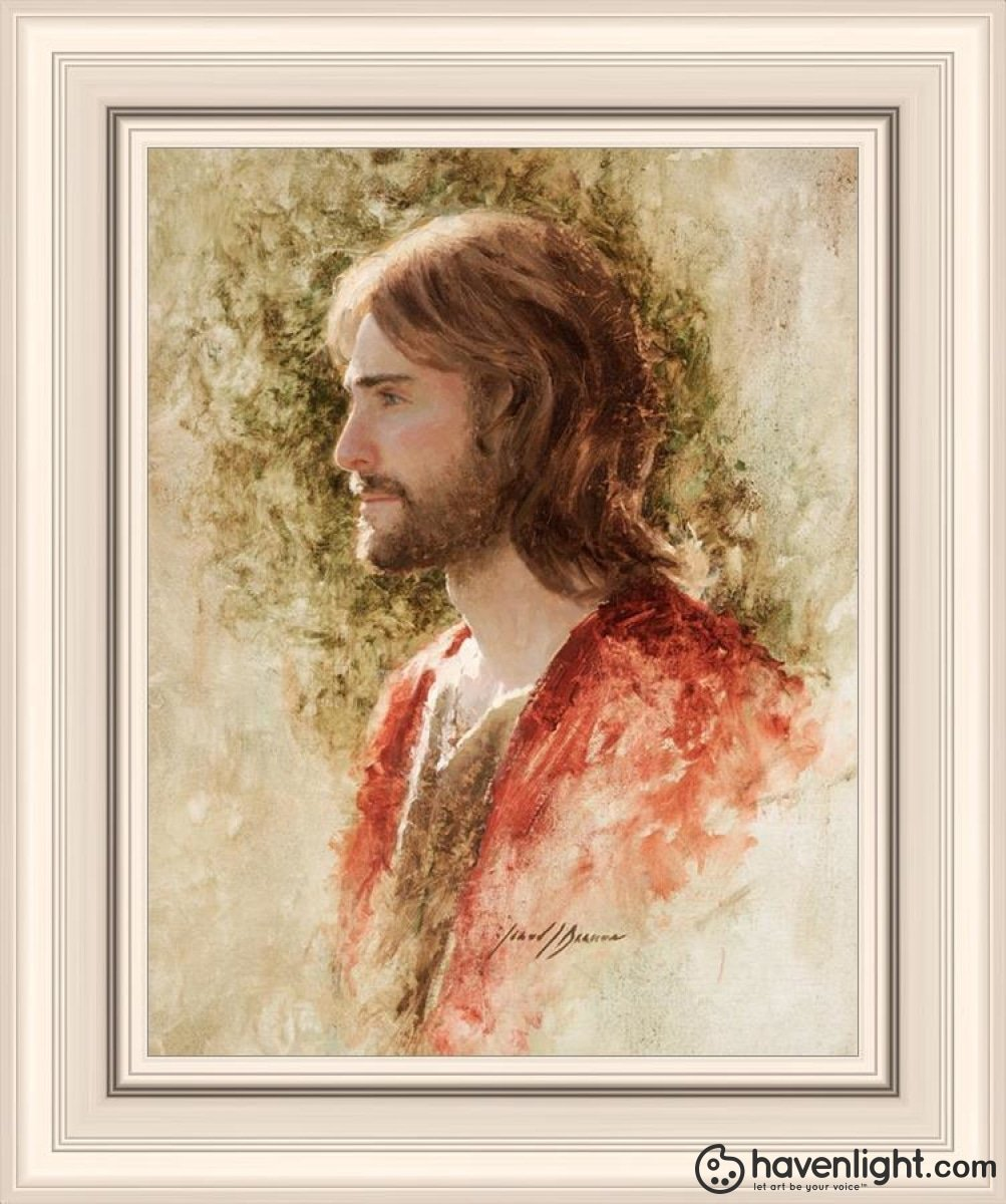 Prince Of Peace Open Edition Print / 11 X 14 Frame R 18 1/4 15 Art