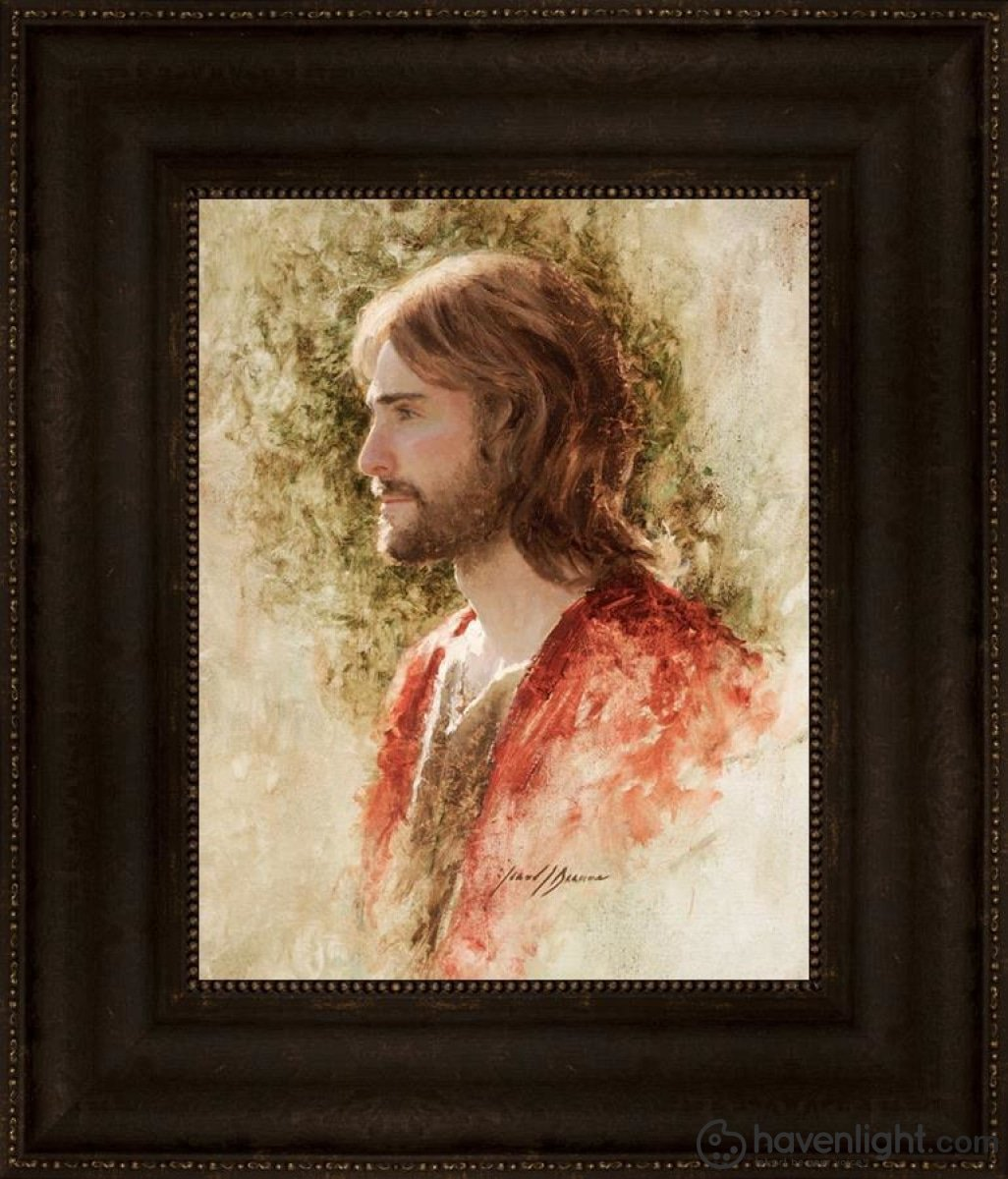 Prince Of Peace Open Edition Print / 11 X 14 Frame T 20 3/4 17 Art