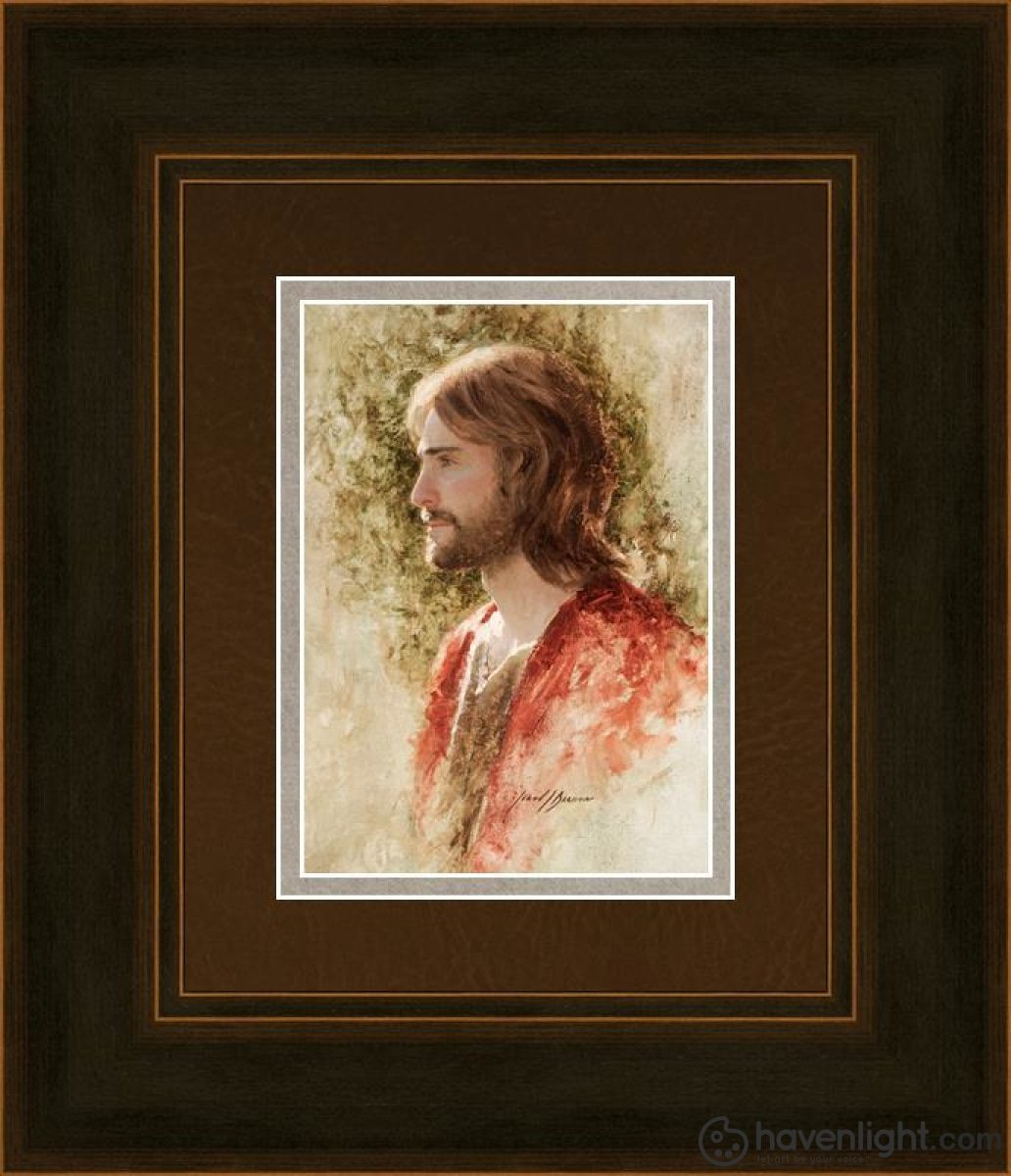 Prince Of Peace Open Edition Print / 5 X 7 Frame A 11 1/4 9 Art