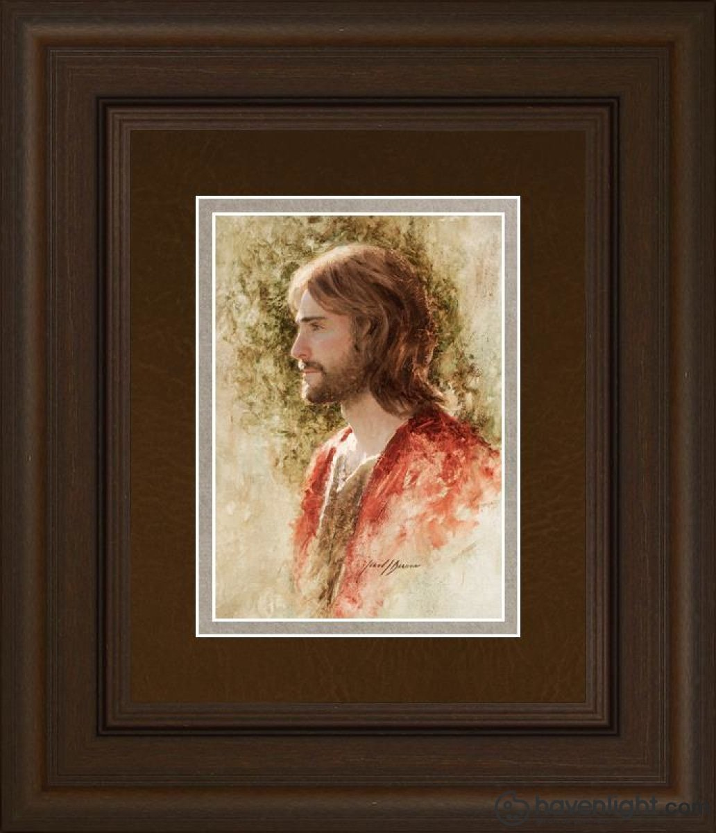Prince Of Peace Open Edition Print / 5 X 7 Frame C 11 1/4 9 Art