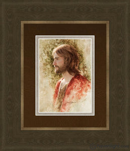 Prince Of Peace Open Edition Print / 5 X 7 Frame G 11 1/4 9 Art