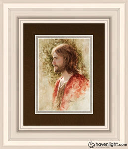 Prince Of Peace Open Edition Print / 5 X 7 Frame R 11 1/4 9 Art