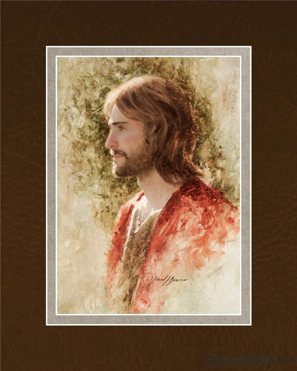 Prince Of Peace Open Edition Print / 5 X 7 Matted To 8 10 Art