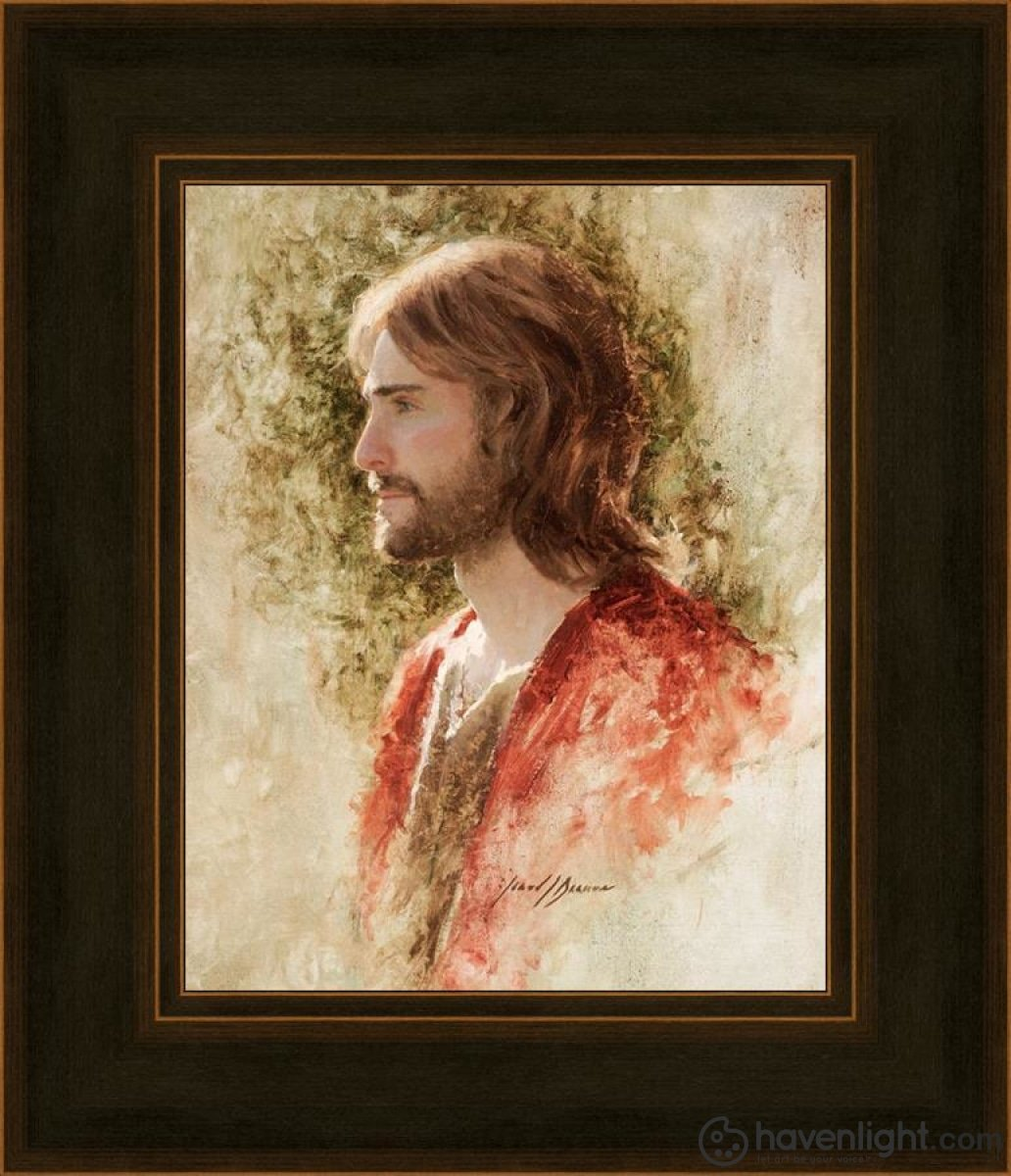 Prince Of Peace Open Edition Print / 8 X 10 Frame A 14 1/4 12 Art