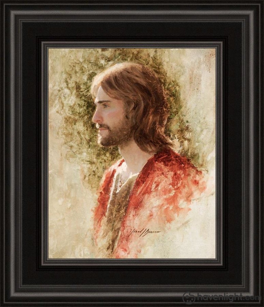 Prince Of Peace Open Edition Print / 8 X 10 Frame B 14 1/4 12 Art