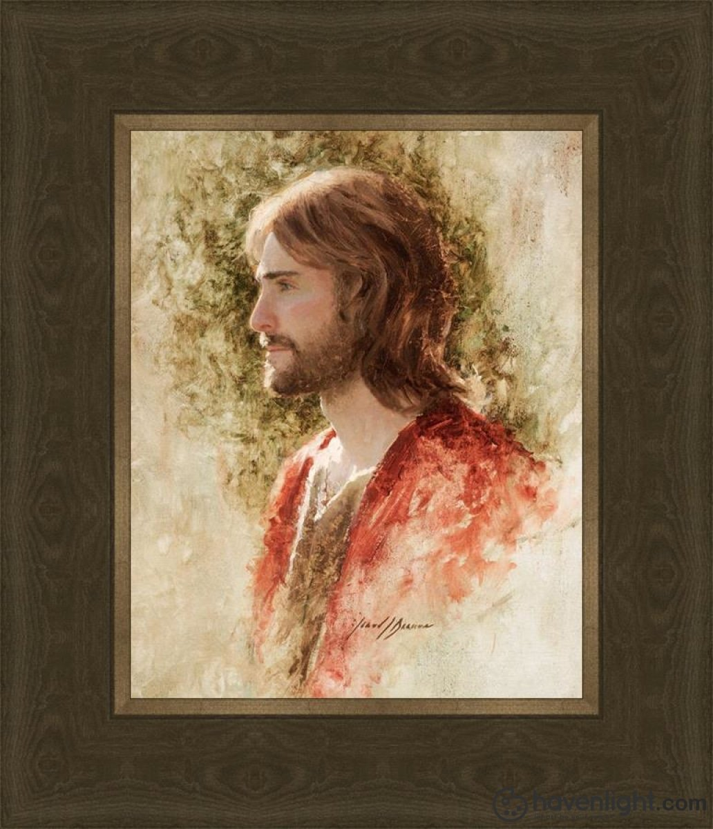 Prince Of Peace Open Edition Print / 8 X 10 Frame G 14 1/4 12 Art