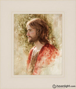 Prince Of Peace Open Edition Print / 8 X 10 Frame L 14 1/4 12 Art