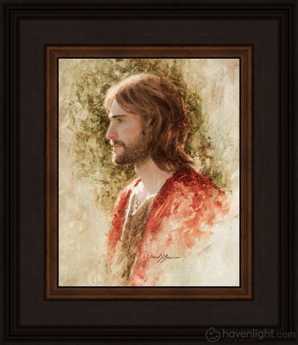 Prince Of Peace Open Edition Print / 8 X 10 Frame N 14 3/4 12 Art