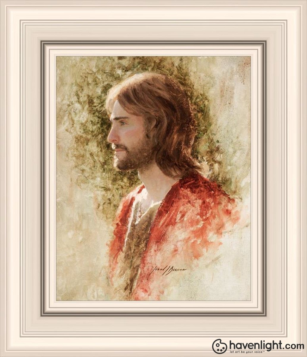 Prince Of Peace Open Edition Print / 8 X 10 Frame R 14 1/4 12 Art