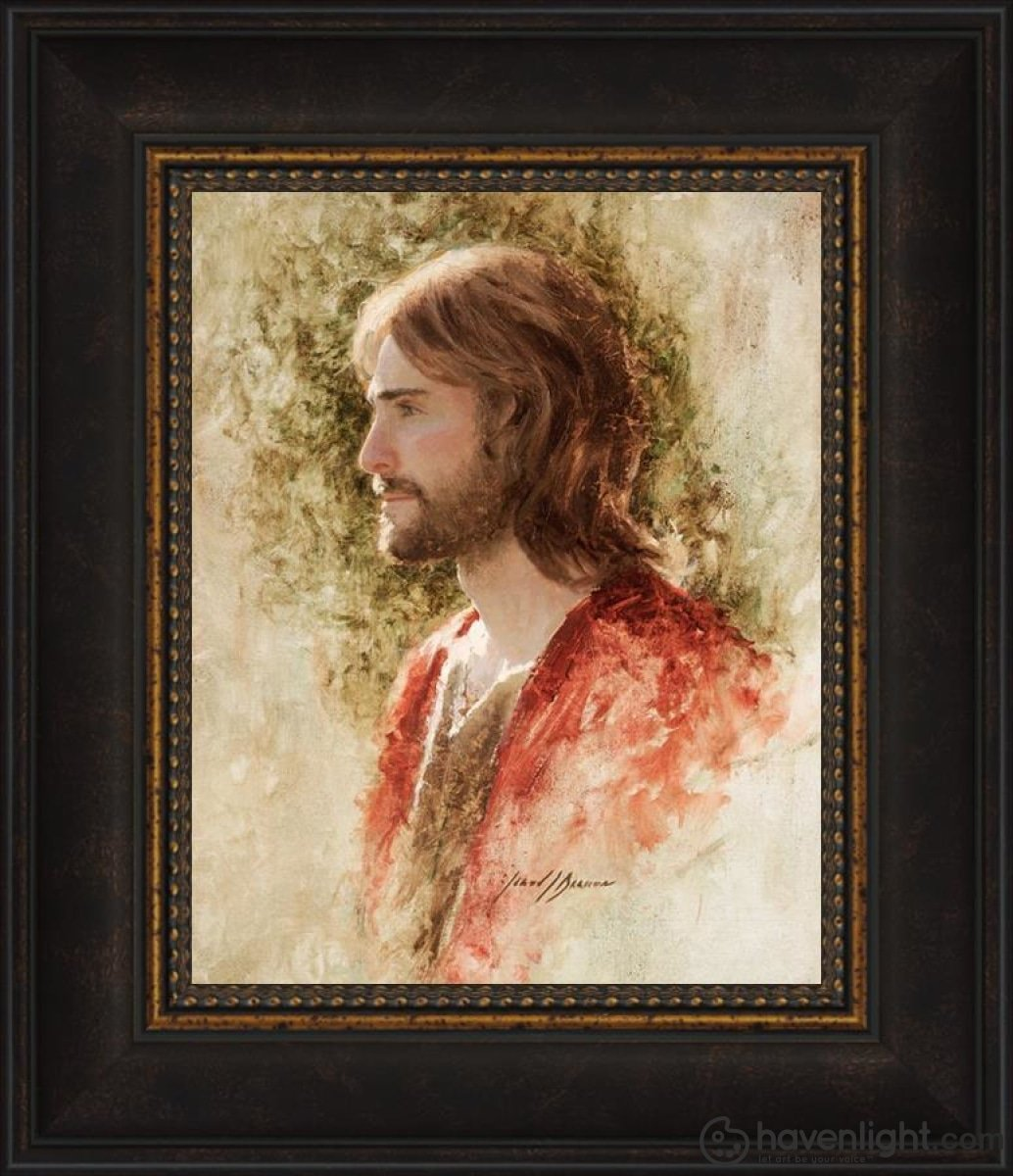 Prince Of Peace Open Edition Print / 8 X 10 Frame W 14 1/2 12 Art