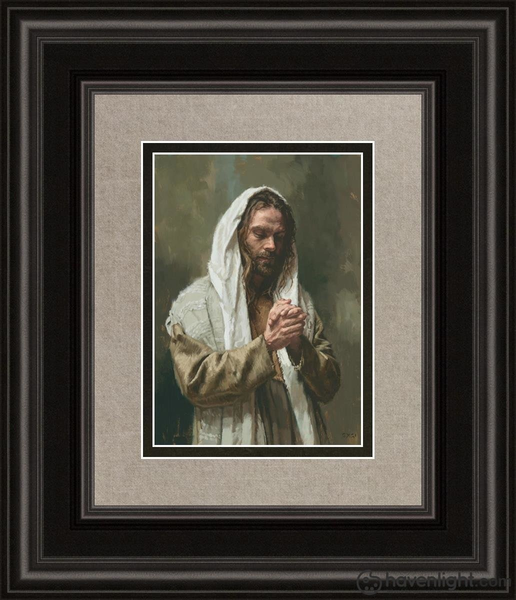 The Lords Prayer Open Edition Print / 5 X 7 Frame B 12 1/4 14 Art