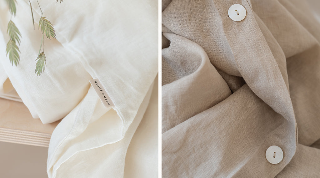 April Notes Sustainable Linen Bedding Brand