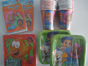 Bubble Guppies Birthday Party Supplies