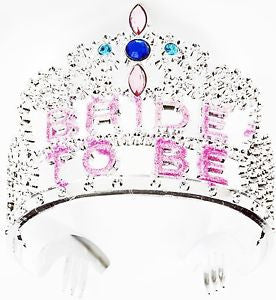 Birthday Princess Party Plastic Silver Pink