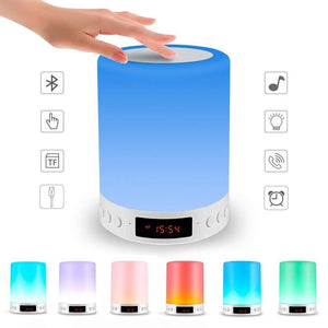 Bluetooth LED Night Lamp Speaker