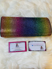 BLING OUT MULTICOLORED PURSE