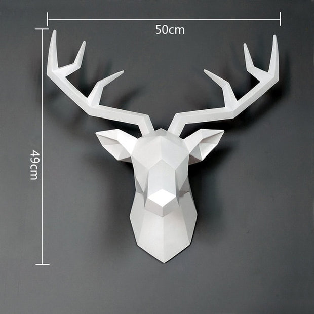 Deer Sculpture for Wall Decoration Patrizio Ricci Patrizioricci.com