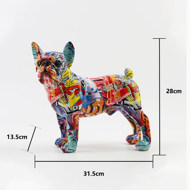 French Bulldog Pugs decor sculpture Patrizio Ricci
