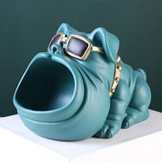 3D French Bulldog Figurine Candy Bowl