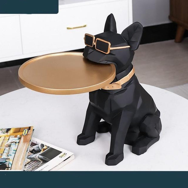 French Bulldog  Sculpture Coffee Corner Table from Patrizioricci.com Patrizio Ricci