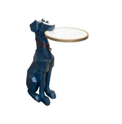 Doberman Dog Sculpture Coffee Corner Table from Patrizioricci.com Patrizio Ricci