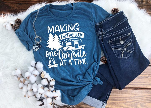 Making Memories One Campsite At a Time Tee