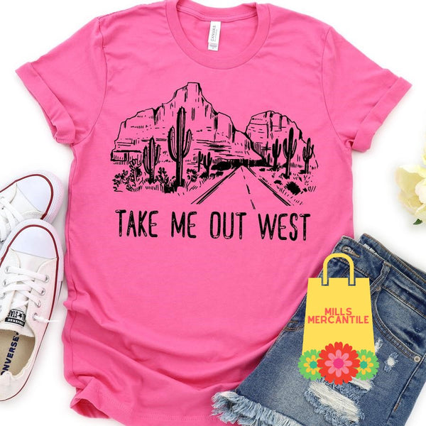 Take Me Out West Tee