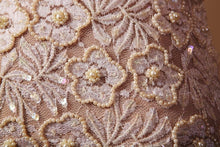 Load image into Gallery viewer, French Antique Fabric in Pearl Beaded Lace