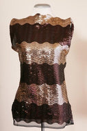 Sleeveless Sequined Top