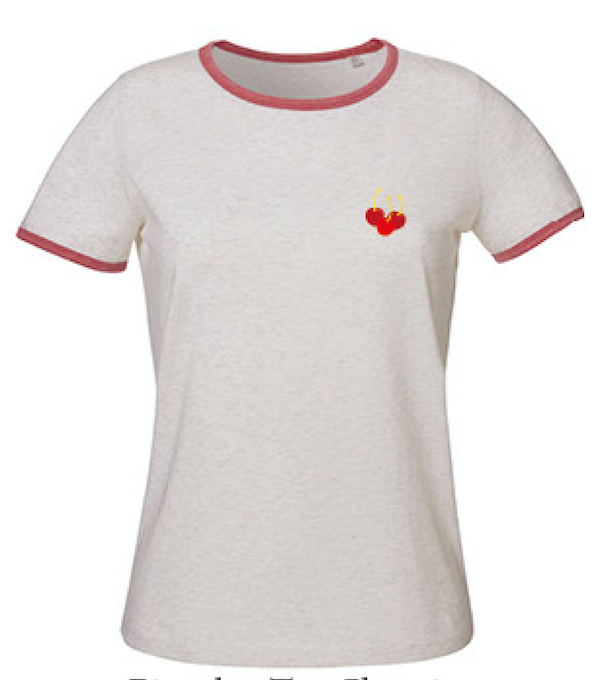 Bi Color Tee Cherries