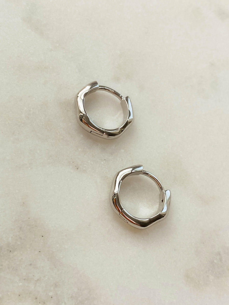 Orbit Earrings in Silver