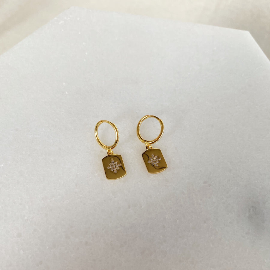 Astra Earrings in Gold