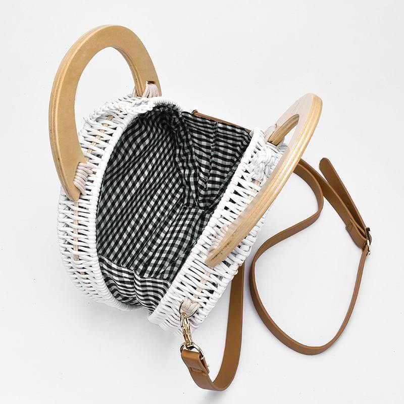 Bolsa de Palha Rattan - JUST SHOP