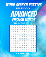 将图片加载到图库查看器,Word Search Puzzles with 2000 Advanced English Words