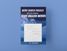 画像をギャラリービューアに読み込む, Word Search Puzzles with the Essential 3000 English Words