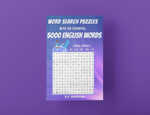 Charger l'image dans la galerie, Word Search Puzzles with the Essential 5000 English Words