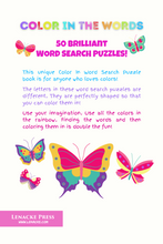 Load image into Gallery viewer, All About COLORS: 50 Color In Word Search Puzzles