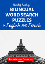 将图片加载到图库查看器,The Big Book of Bilingual Word Search Puzzles in English and French